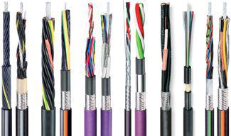 C bles lectriques pour cha nes porte c bles kabelschlepp - Chaine porte cable ...