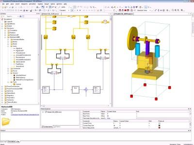 Logiciel de cao m canique simulationx m canique mbs de for Logiciel simulation cuisine 3d gratuit