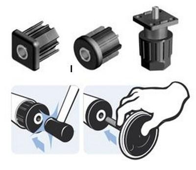 embouts pour tubes manchons taraud s pour tubes fath composant bouchon. Black Bedroom Furniture Sets. Home Design Ideas