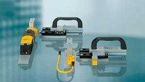 Verrou de s curit machine verrouillage protecteur mobile for Porte logique pneumatique