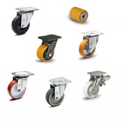 roues et roulettes industrielles elesa roue. Black Bedroom Furniture Sets. Home Design Ideas