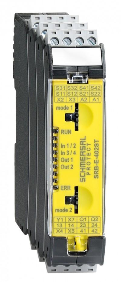 SCHMERSAL: Nouveaux Modules de sécurité PROTECT SRB-E